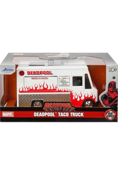 1:32 Deadpool Taco Truck Araba