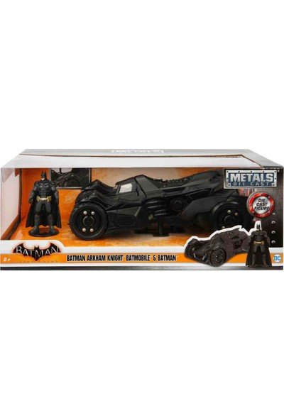 1:24 Batman Arkham Knight Batmobile Araba ve Batman Figür