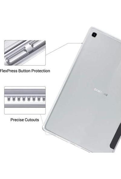 Essleena Samsung Galaxy Tab P610 P615 P617 10.4 Inç Yatay Standlı Uyku Modlu Smart Case Siyah