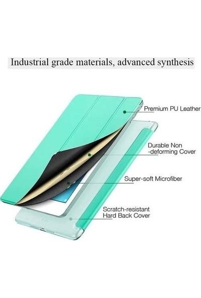 Essleena Samsung Galaxy Tab P610 P615 P617 10.4 Inç Yatay Standlı Uyku Modlu Smart Case Mor