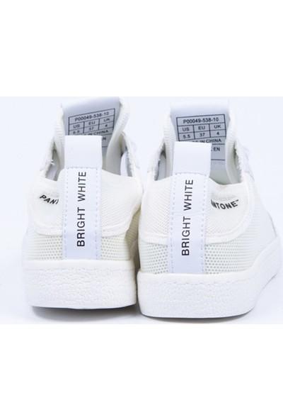 Pantone Beyaz Sneaker