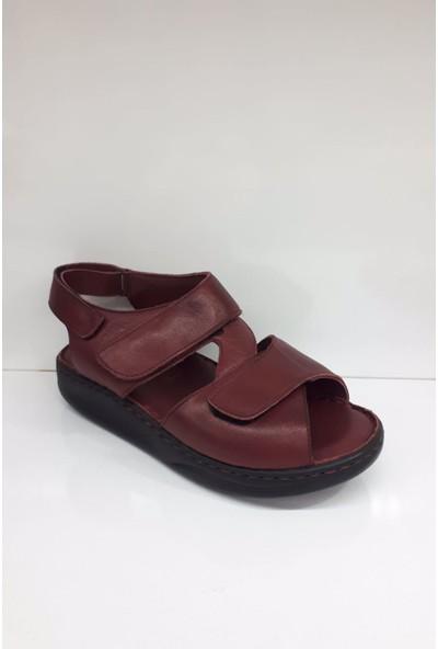 Faruk Karar 5006 Deri Bayan Sandalet