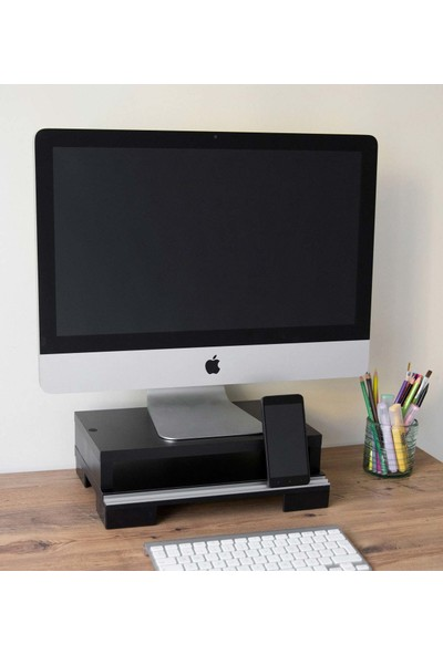 """Alizon 17"""" - 23"""" Pc Monitor Yükseltici Stand-Sehpa"""