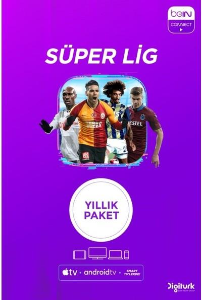 BeIN Connect Yıllık Süper Lig Paketi – 4 Ekran (Web+ Cep+ Tablet+ Smart Tv+ Apple Tv)