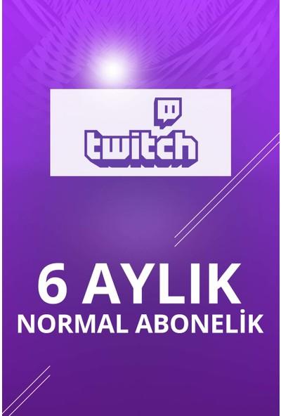 Twitch 6 Aylık Normal Abonelik