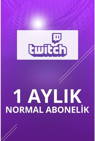 Twitch 1 Aylık Normal Abonelik