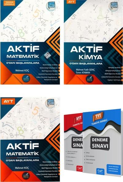 Aktif Matematik + Ayt Kimya + Ayt Matematik 0 Dan Başlayanlara