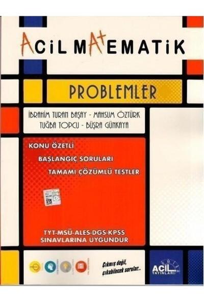 Tyt Matematik Acil Problemler 2021