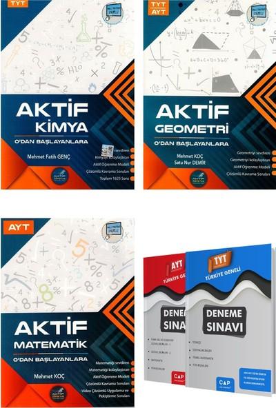 Tyt Kimya + Tyt Ayt Geometri + Ayt Matematik 0 Dan Başlayanlara