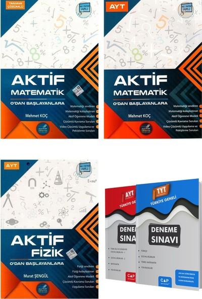 Aktif Matematik + Matematik + Ayt Fizik 0 Dan Başlayanlara Setler
