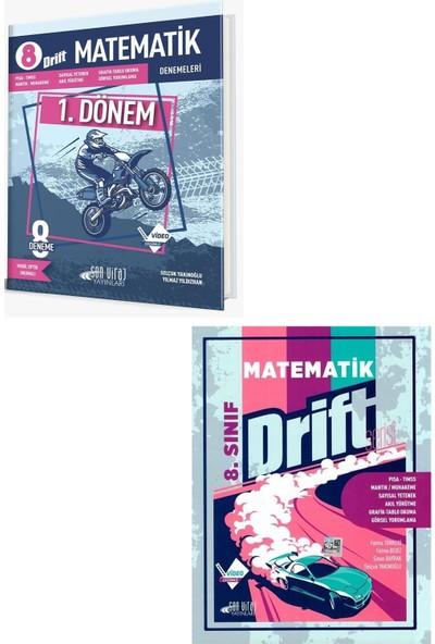 Son Viraj Yayınları Lgs 1. Dönem Matematik Drift 8 Li Deneme + 8. Sınıf Matematik Drift Serisi