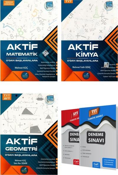 Aktif Öğrenme Yayınları Matematik + Tyt Kimya + Tyt Ayt Geometri