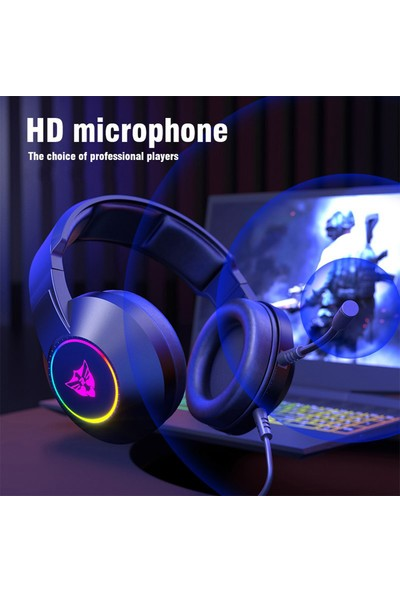 Layftech H03 Rgb 7.1 Surround Hd Mikrofonlu Stereo Gaming Kulaklık