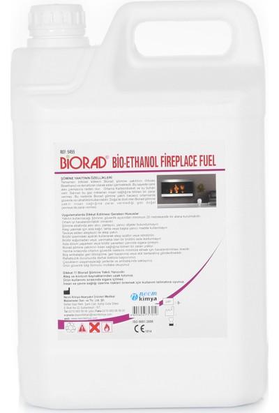 Biorad 5 Litre Bio Ethanol Bacasız Şömine Yakıtı