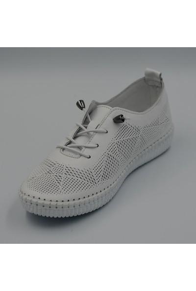 Voyager 7892 Kadın Deri Günlük Ayakkabı