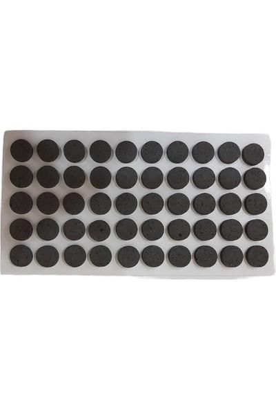 Adilon Zemin Koruyucu, 8 Parça Siyah (189 Parça) Masa Sandalye, Keçesi