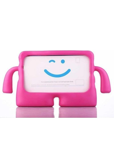 "Samsung Galaxy Tab S6 Lite SM-P610 10.4"" Tam Uyumlu Silikon Çocuk Tablet Kılıf"