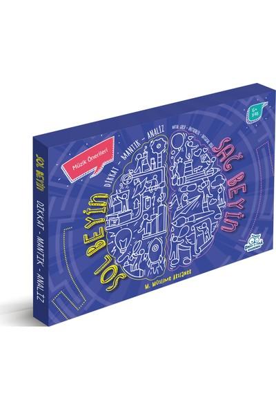 Sağ Beyin Sol Beyin Egzersizleri Set (3 Kitap) - M. Müslime Arslaner