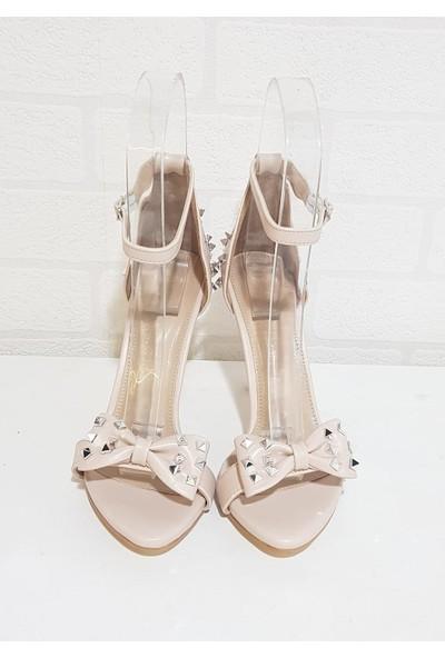 Miss Park Moda 2025 Zımbalı Fiyonklu Kadın Ayakkabı