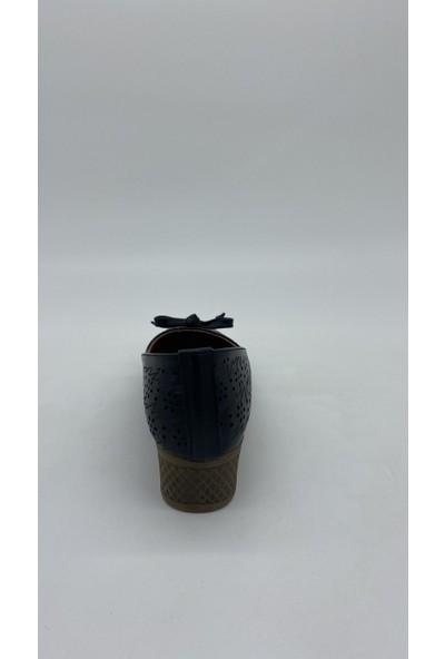 Cudo 034 Siyah Kurdalelı Dolgu Topuk