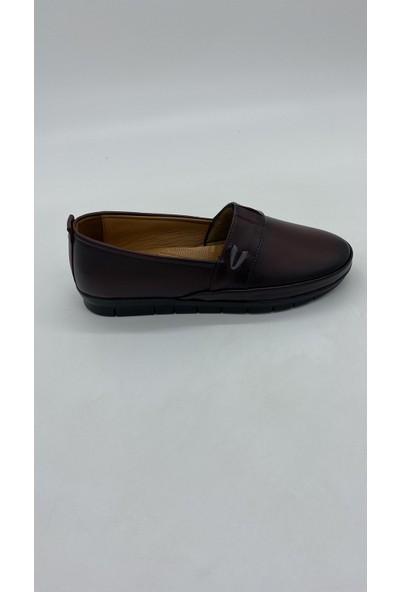 Cudo 073 Bordo Günlük Ayakkabı