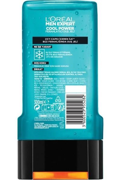 L'oréal Paris Men Expert Cool Power Buz Ferahlığında Duş Jeli 300 ml 5'li Set