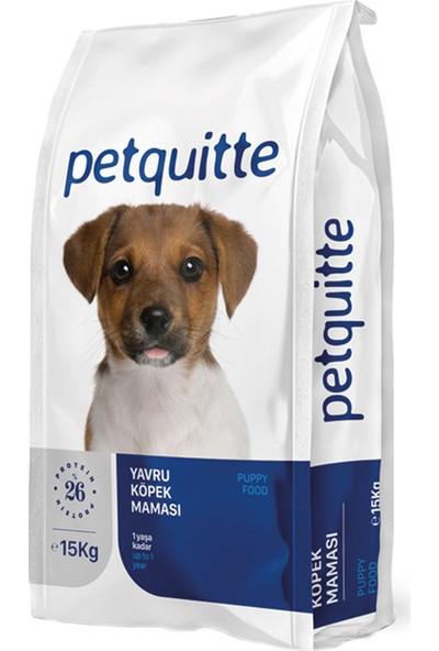 Petquitte Kuzu Etli Yavru Köpek Maması 15 Kg
