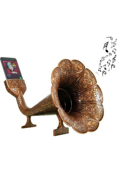Eha Nostaljik Akustik Gramofon Iphone ve Android ile Uygun