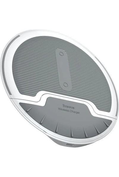 Baseus Wxzd-02 Foldable Multifunction Kablosuz Şarj Cihazı Beyaz