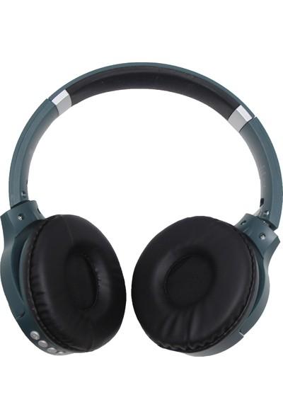 Hytech HY-XBK20 Arty Tf Kart Özellikli Kablosuz Kulaklık Yeşil