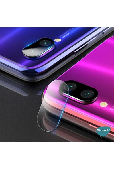 Microsonic Samsung Galaxy M10S Kamera Lens Koruma Camı