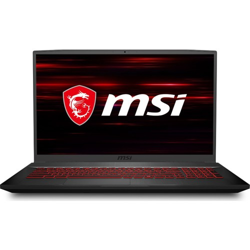 "MSI GF75 Thin 10SC-003XTR Intel Core i7 10750H 8GB 256GB SSD GTX 1650 Freedos 17.3"" FHD Taşınabilir Bilgisayar"