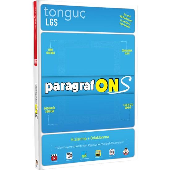 Tonguç Yayınları Paragraf Ons - 5,6,7. Sınıf Lgs