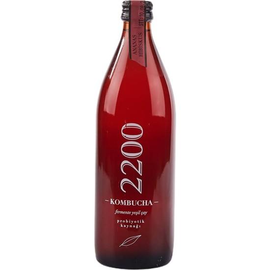Kombucha 2200 Kombucha Ananas Hibiskus 500 ml