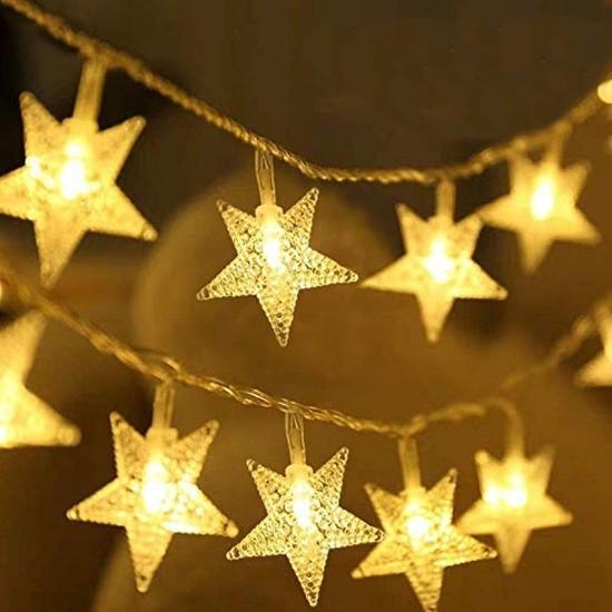 Lumenn 3m Pilli Yıldız Peri LED Işık-Led Aydınlatma