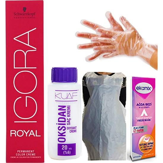 Igora Royal 0-22 Turuncu Azaltıcı + Oksidan 20 Vol