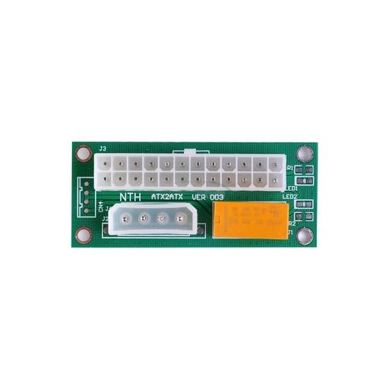 Okn Tekoloji ADD2PSU Atx - Sata Molex 24 Pin Güç Kaynağı Bağlantı Adaptörü