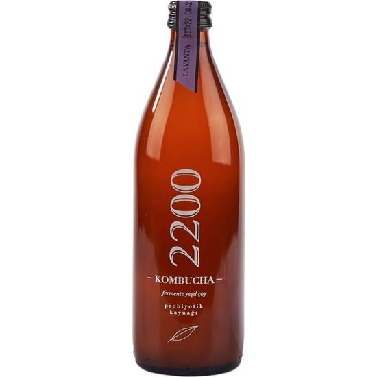Kombucha 2200 Yeşil Çay Lavanta 500 ml