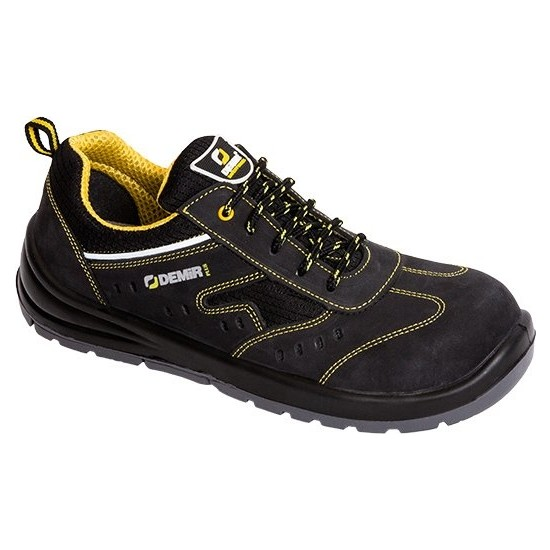 Demir Kundura Ffc 1703 S1PCRZ Yazlık Süet Kompozit Kaymaz Elektrikçi Iş Ayakkabıları 41