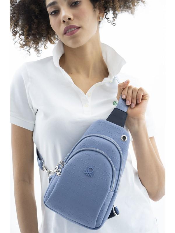 Benetton Kadın Body Çanta Mavı-Lacivert BNT458