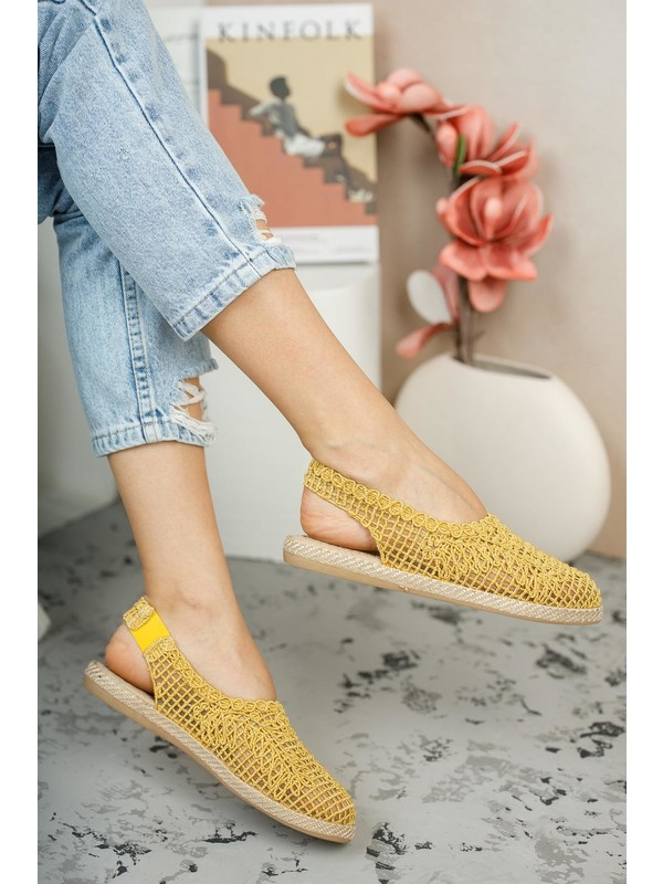 Muggo MGLISA02 Kadın Babet Ayakkabı