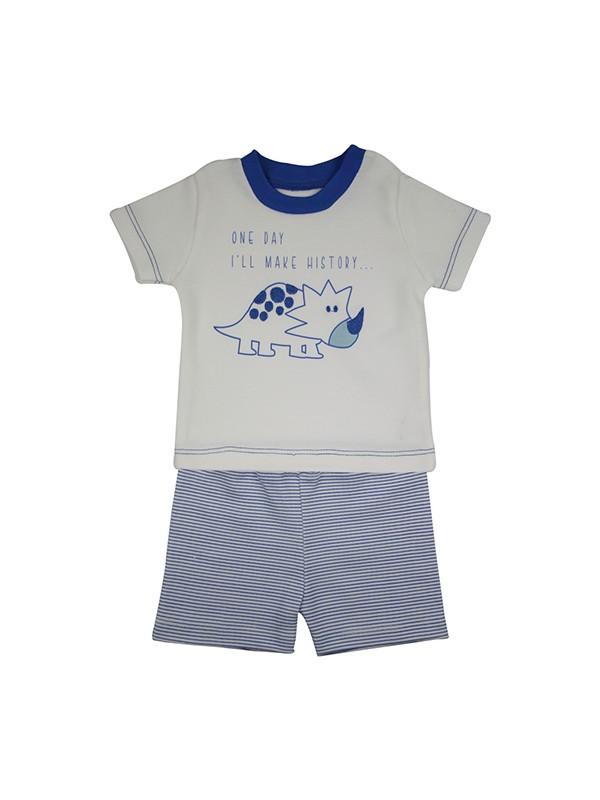 Baby Corner Erkek Bebek 2'li Şort Tişört Takım