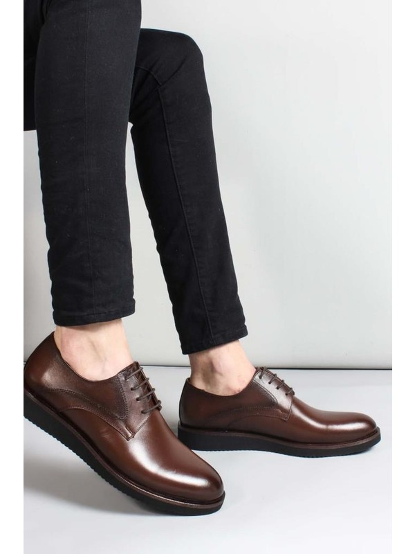 Fast Step Deri Erkek Oxford Ayakkabı 851MA5322