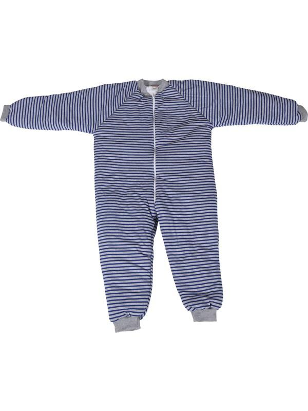 Özlem Bebe 13-16 Yaş Arası Çizgili Elyaflı Uyku Tulumu