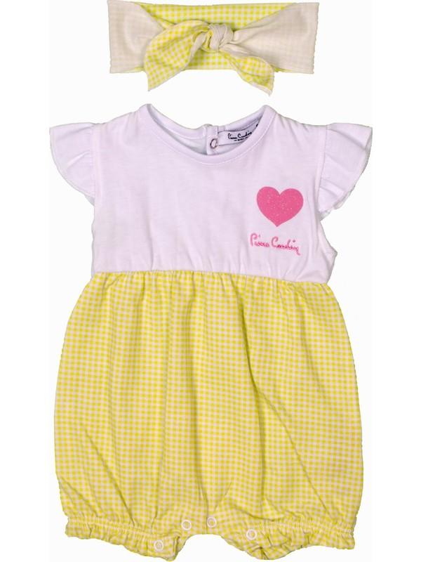 Pierre Cardin Kız Bebek Kısa Tulum 301419