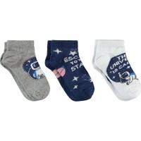 Civil Boys Erkek Çocuk 3'lü Çorap Set 2-12 Yaş Lacivert