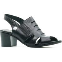 Mammamia D21YS 1105 Hakiki Deri Topuklu Kadın Sandalet Ayakkabı