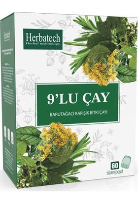Herbatech 9\'lu Karısık Bitki Çayı