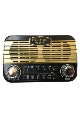 Everton Rt 311 Alarm Saatli Radyo