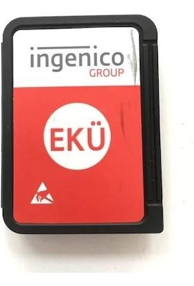 Ingenico Ekü-Hafıza Kartı-Tüm Ingenico Modellerine Uyumlu